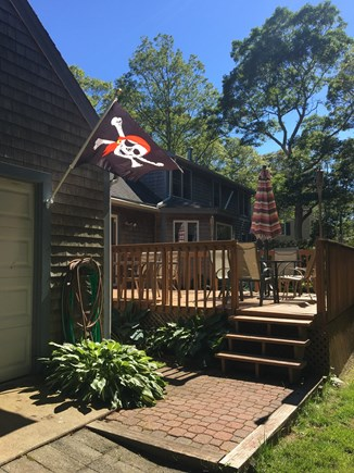 Falmouth Heights Cape Cod vacation rental - Large, private Deck