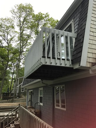 Mashpee Cape Cod vacation rental - Deck off Master Bedroom- great spot for morning coffee
