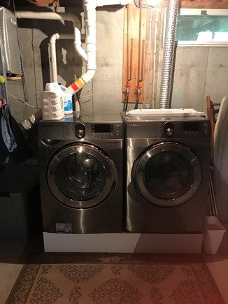 Mashpee Cape Cod vacation rental - Washer Dryer
