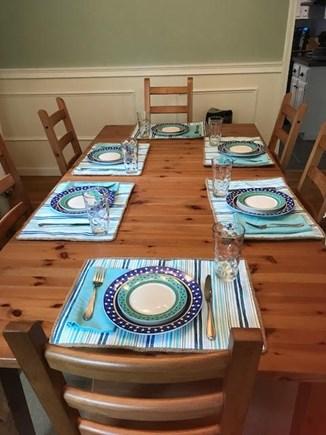 Mashpee Cape Cod vacation rental - Oversized dining room table