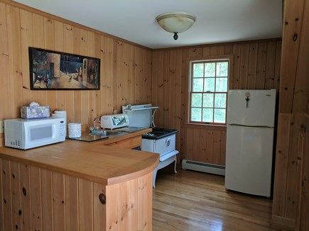 Harwich Cape Cod vacation rental - Kitchenette above the garage (no stove).