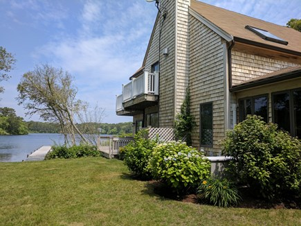 Harwich Cape Cod vacation rental - View of the side yard