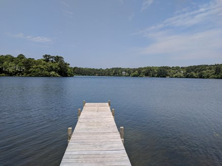Harwich Cape Cod vacation rental - Private dock rand beach right in front of the home