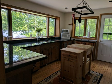 Harwich Cape Cod vacation rental - Kitchen with views