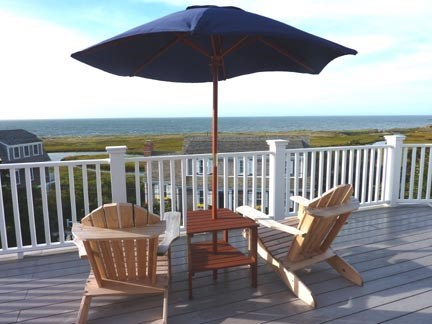 Chatham Cape Cod vacation rental - Upper deck with panoramic views.