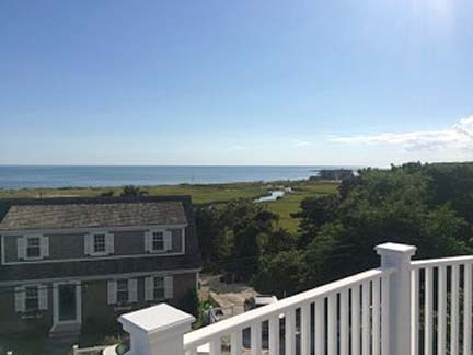 Chatham Cape Cod vacation rental - View from upper deck.