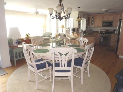 Chatham Cape Cod vacation rental - Dining area with views.