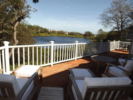 Chatham Cape Cod vacation rental - View From the Lounging Deck Area.