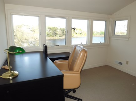Chatham Cape Cod vacation rental - Upstairs loft with View of Pond