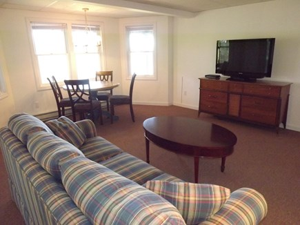 Chatham Cape Cod vacation rental - Lower Level Sitting Area with TV.