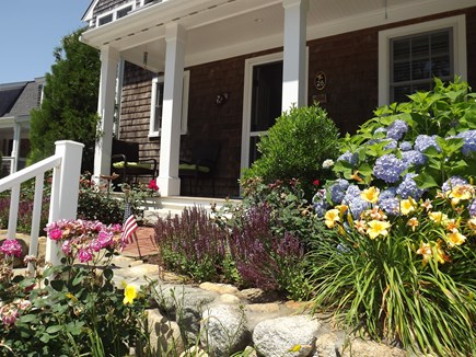Chatham Cape Cod vacation rental - Front Porch with lovely gardens