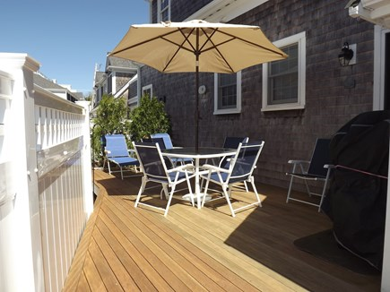 Chatham Cape Cod vacation rental - Deck with Dining Area, Lounge Chairs and Gas Grill