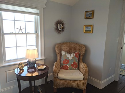 Chatham Cape Cod vacation rental - Hallway Sitting Area Between Bedrooms