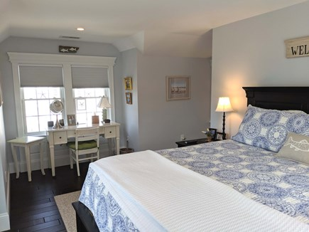 Chatham Cape Cod vacation rental - Another View of 2nd Floor Bedroom with King Bed and Desk