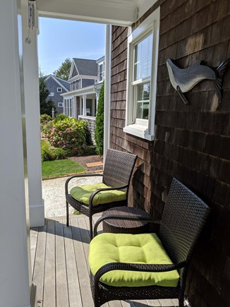 Chatham Cape Cod vacation rental - Front porch seating