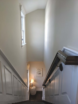 Chatham Cape Cod vacation rental - Stairs leading to second floor bedrooms