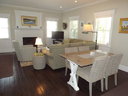Chatham Cape Cod vacation rental - Dining and Living Area