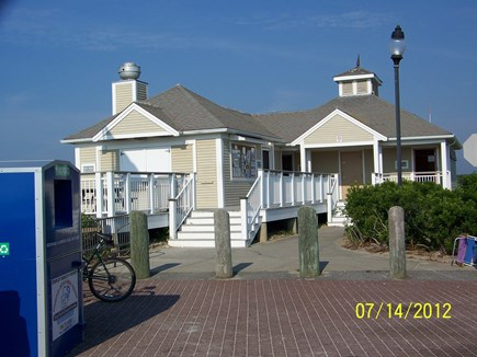 West Yarmouth Cape Cod vacation rental - Snack shack with bathroom and showers.