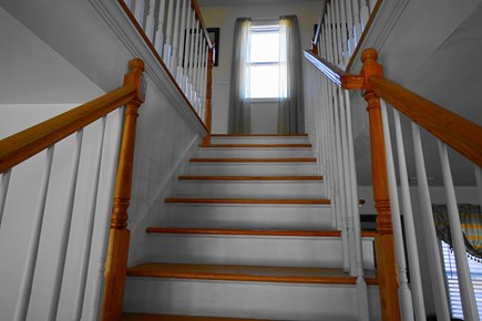 Barnstable, Haynnis Cape Cod vacation rental - Stairs to the Second Floor