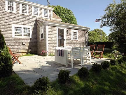 Chatham Cape Cod vacation rental - Patio with Dining Set and Gas Grill