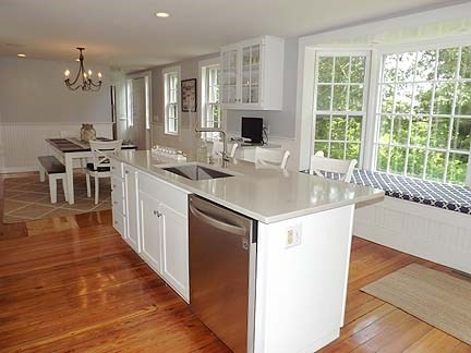 Chatham Cape Cod vacation rental - Kitchen Island