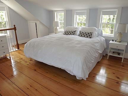 Chatham Cape Cod vacation rental - Second Floor Master Bedroom with King Bed and Full Bathroom