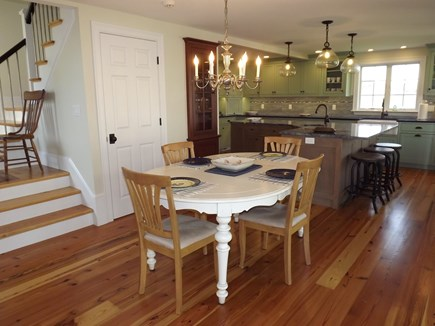 Chatham Cape Cod vacation rental - Dining area open to both the kitchen and the living room.