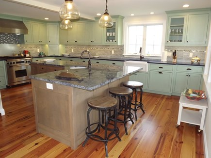 Chatham Cape Cod vacation rental - Gourmet kitchen with breakfast bar.
