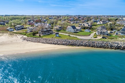 Chatham Cape Cod vacation rental - Aerial from the Beach (Andrew Hardings/Lighthouse)