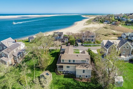 Chatham Cape Cod vacation rental - Rear Aerial View