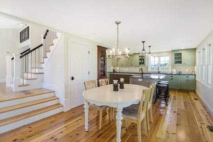 Chatham Cape Cod vacation rental - Dining Area Open to Both the Kitchen and Living Rooms