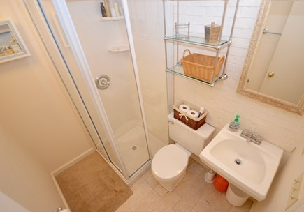 Orleans Cape Cod vacation rental - Lower level ensuite full bath with stand up shower