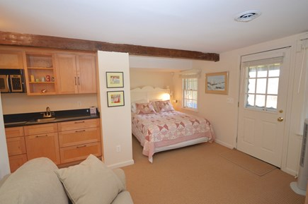 Orleans Cape Cod vacation rental - Lower Level Queen bedroom with efficiency kitchen -pull out twin