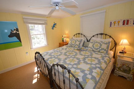 Orleans Cape Cod vacation rental - Main Level Bedroom with Split King can be 2 twins