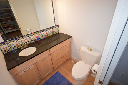 Orleans Cape Cod vacation rental - Lower level 1/2 bath