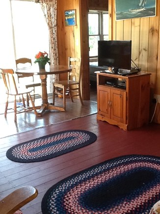 South Chatham Cape Cod vacation rental - Another view of open living and dining area