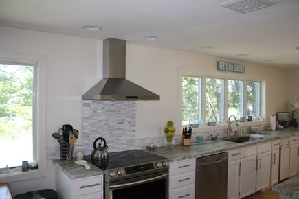 Falmouth Cape Cod vacation rental - Kitchen view #2 Spacious fully-stocked kitchen
