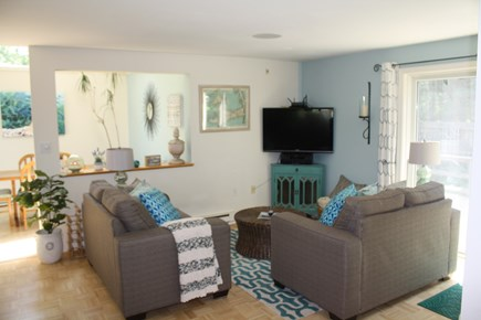 Falmouth Cape Cod vacation rental - Kitchen sitting area and breakfast nook