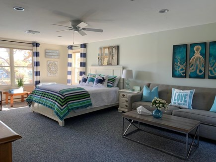 Falmouth Cape Cod vacation rental - Queen Bedroom #3 with sitting area upper level
