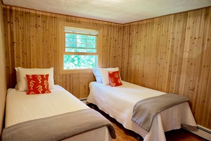 North Falmouth Cape Cod vacation rental - Bedroom #2 with 2 twins