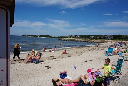 North Falmouth Cape Cod vacation rental - New Silver Beach is just 4/10 mile away