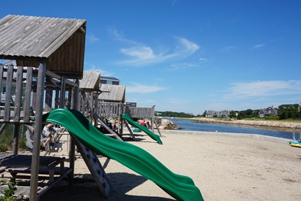 North Falmouth Cape Cod vacation rental - Playground on the beach