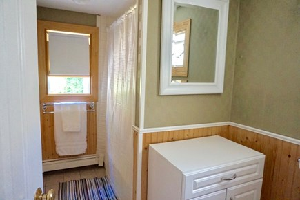 North Falmouth Cape Cod vacation rental - Bathroom shower area