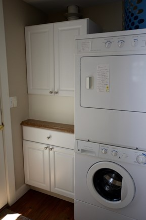 Orleans Cape Cod vacation rental - Washer/Dryer