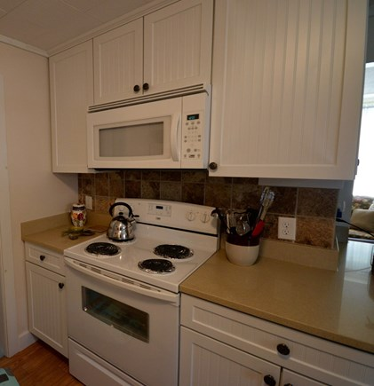 Orleans Cape Cod vacation rental - Kitchen with stove/microwave/toaster