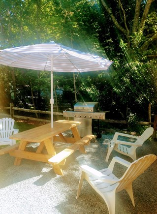 COTUIT Cotuit vacation rental - Grilling Area