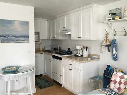 Dennisport Cape Cod vacation rental - Newly updated kitchen with all amenities.