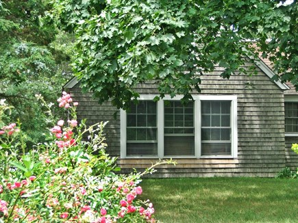 Near Coast Guard Beach Eastham Cape Cod vacation rental - End Apartment from the south out front