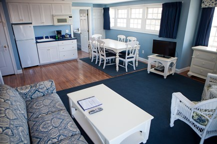 Falmouth Cape Cod vacation rental - Living area looking into the kitchen