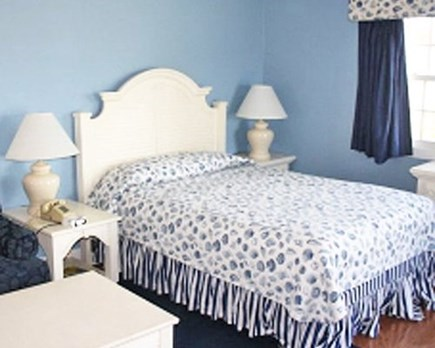 Falmouth Cape Cod vacation rental - Bedroom which includes master bath and a gas fireplace